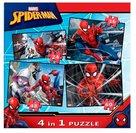 Spiderman 4'lü Puzzle