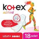 Kotex Active Quadro Uzun (18X12)