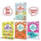 Akıl Oyunları Serisi Seti 5+ Yaş - 4 Kitap Takım