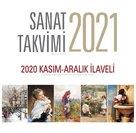 Angora Sanat Takvimi 2021 Duvar Takvimi