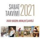 Angora Sanat Takvimi 2021 Masa Takvimi