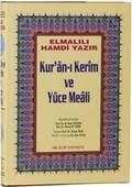 Kur'an-ı Kerim ve Yüce Meali (Cami Boy - Hafız Osman Hattı)
