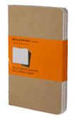 Moleskine Cahier Pocketruled Notebook Kraft (Çizgili 3'Lü Paket Bej)