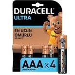 Duracell Turbo Ince Kalem Pil AAA  4 lü  (75015302)