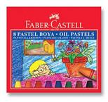 Faber-Castell Karton Kutu Pastel Boya, 8 Renk - 5282125308
