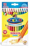 Carioca Kuruboya Üçgen Kalın 42393