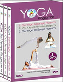 Yoga Programları 3 DVD Box