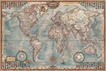 Educa Puzzle   THE WORLD, EXECUTIVE MAP     14827     4000 lik