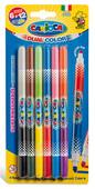 Carioca Çift Renkli Süper Yıkanabilir Keçeli Boya Kalemi 6'lı (12 Renk) 42269