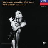 Sings Kurt Weil,Vol.2