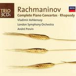 Rachmaninov:Piano Concertos Complete+Rhapsody