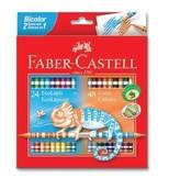 Faber-Castell Bicolor Boya Kalemi, 48 Renk - 5171120624