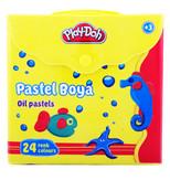 Play-Doh 24 Renk Pastel Boya Çantali PLAY-PA007
