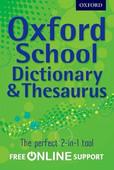Oxford School Dictionary & Thesaurus Pb 2012
