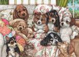 Anatolian Vavru Köpekler / Puppies 1000 Parça Puzzle - 3162