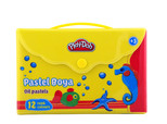 Play-Doh 12 Renk Pastel Boya Çantali