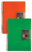 Mynote Neon Pp Defter A4 120 Yp.Kareli Uc34120-K