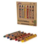 Play-Doh 6 Renk Naturel Crayon 2'Si 1 Arada PLAY-CR009