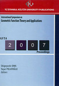 International Symposium on Geometric Function Theory and Applications 2007 Proceedings