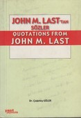 John M. Last'tan Quotations From John M. Last