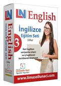 Limasollu Naci 3. Kur Advanced and Business English İngilizce Eğitim Seti