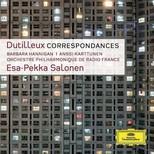 Dutilleux: CorrespondancesFor Soprano And Orchestra [Barbara Hannigan Orchestre Philhar. De Radio.]