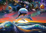 Art Puzzle Evrensel Yunuslar 4162 500'lük