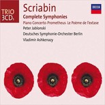 Scriabin: Complete Symphonies, Piano Concerto, Prometheus [Peter Jablonski Deutsches Symphonie]