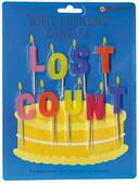 NPW Lost Count - Who's Counting Candles / Artık Sayamıyorum Pasta Mumu W4267
