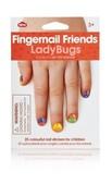 NPW Fingernail Friends Ladybugs / Sticker Uğurböceği Tırnak Süsü W10268