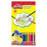Play-Doh 12 Renk Kuru Boya Teneke Kutu Play-Ku013