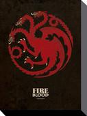 Pyramid International 60x80 Kanvas Game Of Thrones - Targaryen