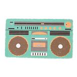 DCI Pop Files Green Boombox - Retro Törpü Yeşil 48289GRE