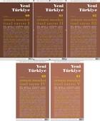 Yeni Türkiye Sayı: 60 - 64 Özel Sayısı 5 Cilt Dergi Takım