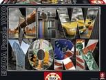 Educa Puzzle New York Collage 16288 1000 Lik