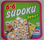 6 x 6 Sudoku - 10