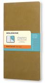 Moleskine Chapters Günl.Çizg.Gold Kahve Slim M 112 CPT061K10