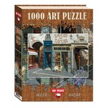 Art Puzzle Ahsap Cafe Leon  4438