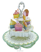 Santoro Gc - Pirouettes - Cup-Cake Tea Time Ps004