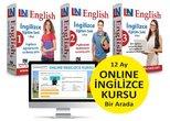Limasollu Naci İngilizce Eğitim Setleri 3 Kur Bir Arada + 12 Aylık Online İngilizce Kursu