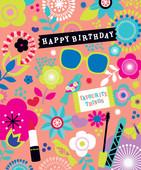 Hallmark Kart Birthday Cherry Blossom 11384206