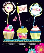 Hallmark Kart Birthday Cherry Blossom 11384222