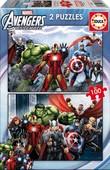Educa Çocuk Puzzle 2x100 Avengers 15771 Karton