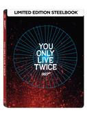 007 James Bond - You Only Live Twice Steelbook - İnsan İki Kere Yaşar (Seri 5)