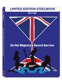 007 James Bond - On Her Majestys Secret Service Steelbook- Kraliçenin Hizmetinde ( Seri 6 )