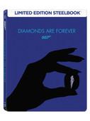 007 James Bond - Diamonds Are Forever Steelbook - Ölümsüz Elmaslar (Seri 7)