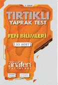 Anafen 7.Sınıf Fen Bilimleri Tırtıklı Yaprak Test 33 Yaprak