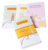 Küçük Prens 3'lü Not Defteri Karton Kapak 48 Yaprak KPR221-222