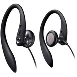 Philips  SHS3300BK Kulak Kancalı Kulaklık / Siyah