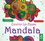 Çocuklar İçin Boyama - Mandala